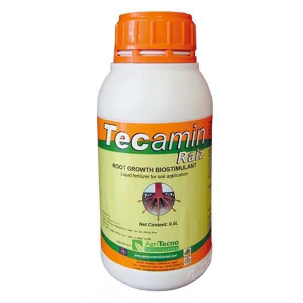 Biostimulator radicular TECAMIN RAIZ, AgriTecno, 0.5 litri