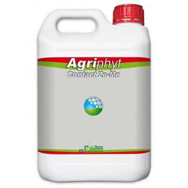 Biostimulator foliar fitosanitar (insecticid bio) AGRIPHYT CONTACT ZnMn, AgriTecno, 5 litri
