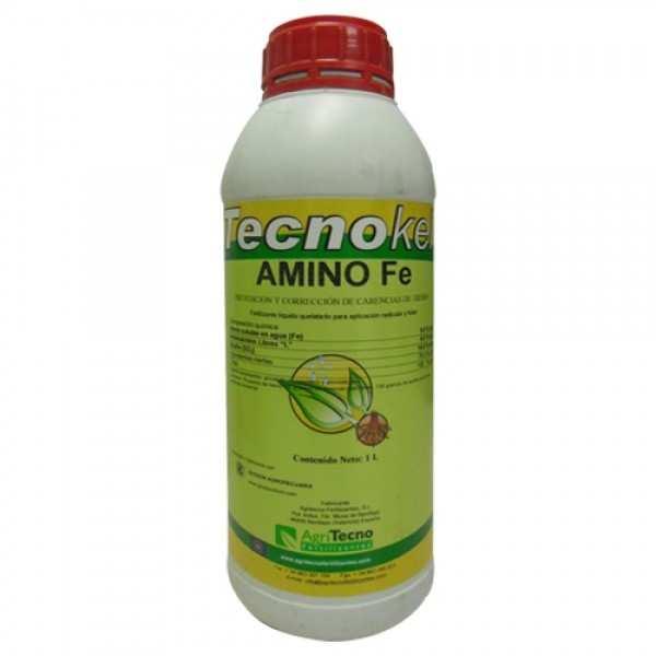 Biostimulator foliar TECNOKEL AMINO Fe, AgriTecno, 1 litru