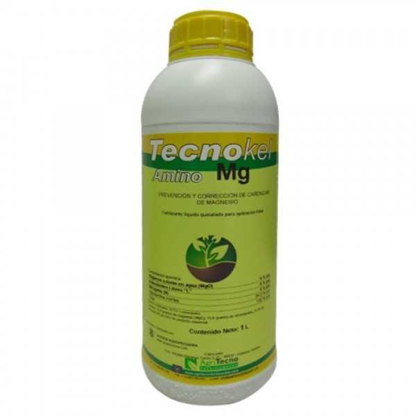 Biostimulator foliar TECNOKEL AMINO Mg, AgriTecno, 1 litru