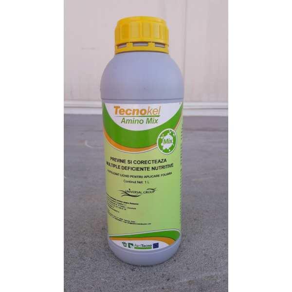 Biostimulator foliar TECNOKEL AMINO MIX, AgriTecno, 1 litru