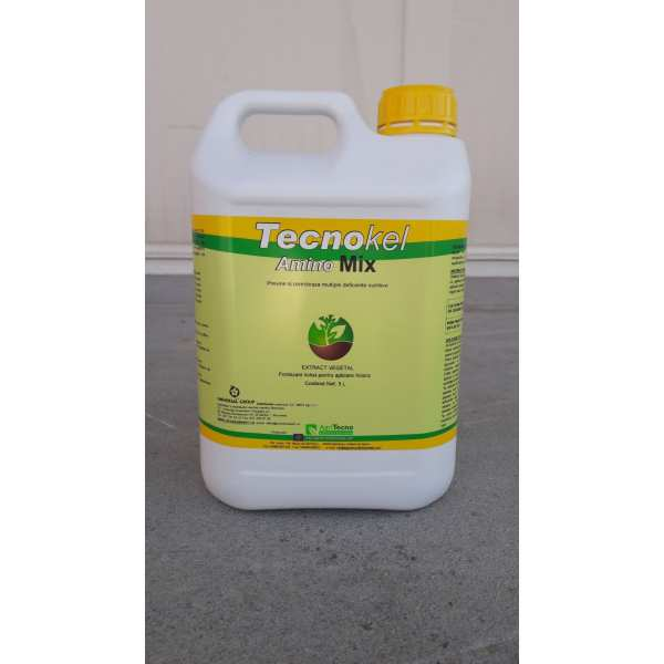 Biostimulator foliar TECNOKEL AMINO MIX, AgriTecno, 5 litri