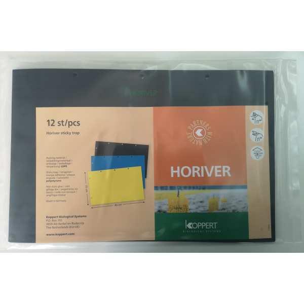 Capcana pentru monitorizare daunatori HORIVER negru, Koppert, 12 capcane